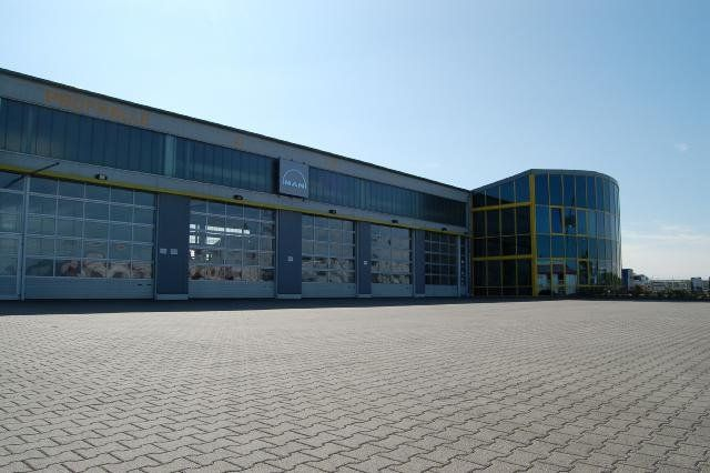 Neubau einer lkw werkstatt 201457 bsh bentheimer stahl for K verband stahlbau