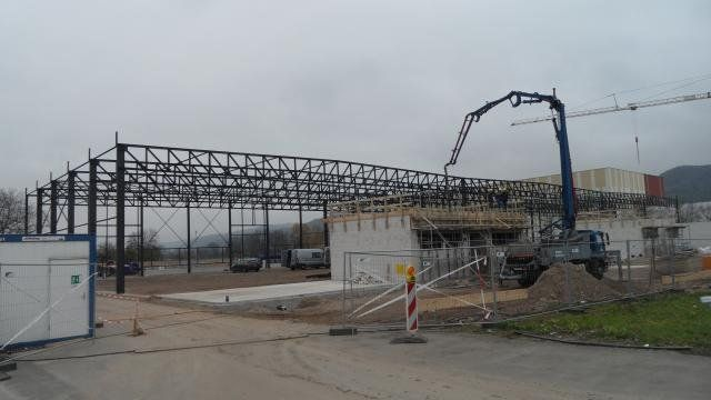 Neubau einer multifunktionshalle 4077 bsh bentheimer for K verband stahlbau