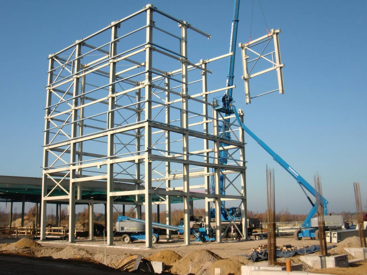Stahlbau bsh bentheimer stahl und hallenbau for K verband stahlbau