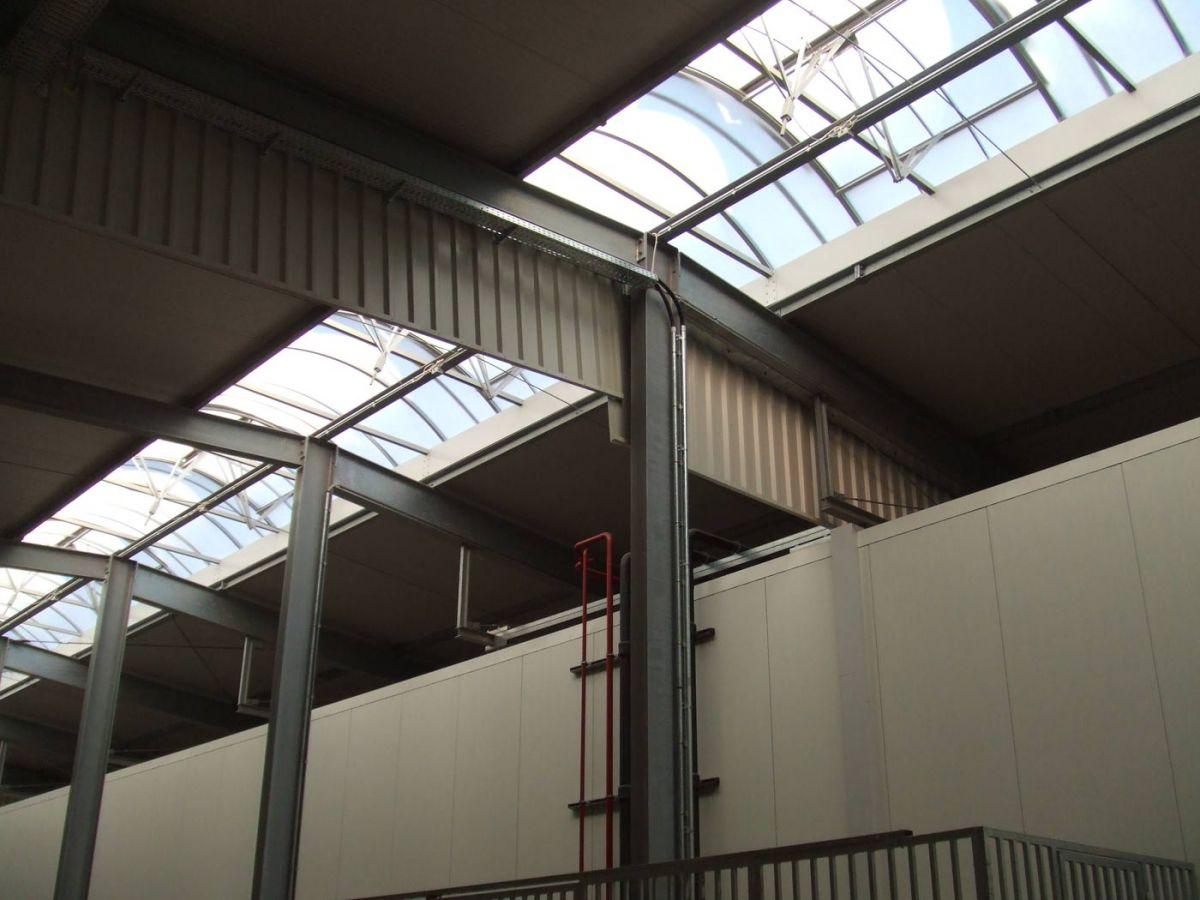 Industriebau bsh bentheimer stahl und hallenbau for K verband stahlbau